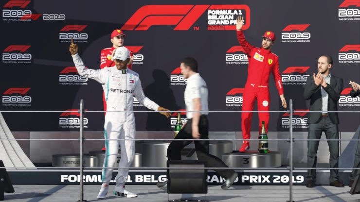 F1 2019 per PlayStation 4