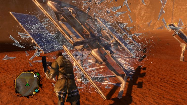 Red Faction Guerrilla Re-Mars-tered per Nintendo Switch
