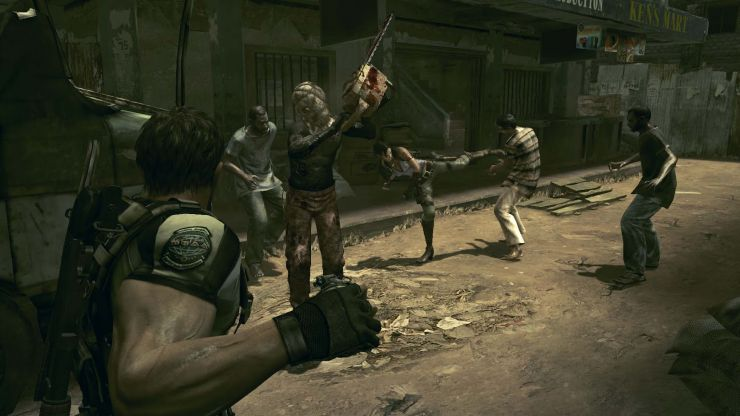 Resident Evil 5 per PlayStation 4